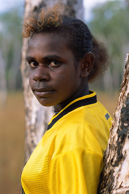 Kate Wolmby, Aurukun, Cape York Peninsula.