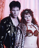 1990: THE CRAMPS - Lux & Ivy - Photosession in London
