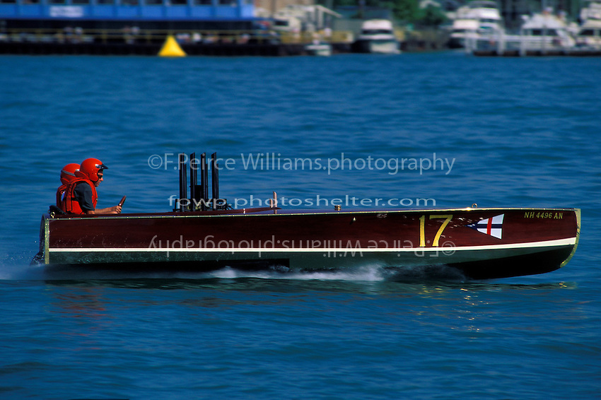 "Geoffrey Magnuson, 17 ""Arab iV"" (1992 reproduction of a Garden Unlimited Gold Cup boat) Detroit 1996"