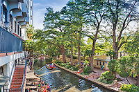 Another capture along the riverwalk in San Antonio on a nice fall day.  The river boats tours can take you to any part of the river so you can shop, eat or just take in the views.  It is a beautiful place to spend the day.