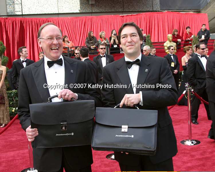 Price Waterhouse Coopers Accountants.79th Annual Academy Awards.Kodak Theater .Hollywood & Highland.Hollywood, CA.February 25, 2007.©2007 Kathy Hutchins / Hutchins Photo....
