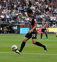 Makoto Hasebe (Eintracht Frankfurt) - 22.09.2019: Eintracht Frankfurt vs. Borussia Dortmund, Commerzbank Arena, 5. Spieltag<br /> DISCLAIMER: DFL regulations prohibit any use of photographs as image sequences and/or quasi-video.