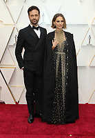 09 February 2020 - Hollywood, California - Benjamin Millepied, Natalie Portman. 92nd Annual Academy Awards presented by the Academy of Motion Picture Arts and Sciences held at Hollywood & Highland Center. Photo Credit: AdMedia