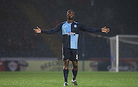 Anthony Stewart of Wycombe Wanderers during the Sky Bet League 2 match between Wycombe Wanderers and Morecambe at Adams Park, High Wycombe, England on 2 January 2016. Photo by Andy Rowland / PRiME Media Images