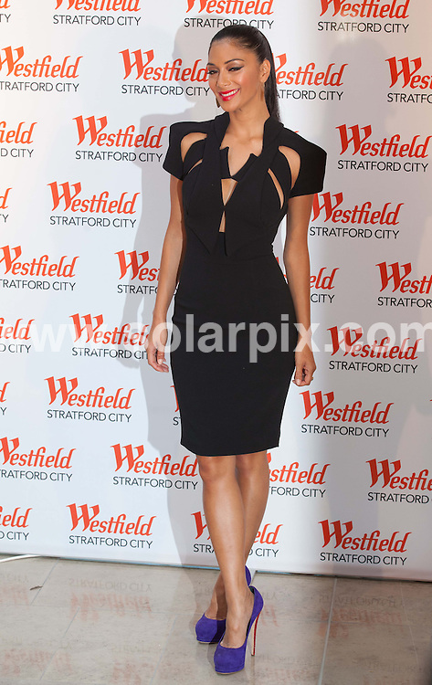**ALL ROUND PICTURES FROM SOLARPIX.COM**                                             **NO UK NEWSPAPER PUBLICATION**.**UK MAGAZINE & SUPPLEMENT PUBLICATION ONLY** AND NO PUBLICATION IN AUSTRALIA, BELGIUM, FRANCE, GERMANY, ITALY, SCANDINAVIA AND USA**                                                                                  Caption: The opening of Westfield Stratford City shopping centre in East London..This pic: Singer Nicole Scherzinger                                                                                                                                                                     JOB REF:13931        SFE       DATE:13.09.2011                                                            **MUST CREDIT SOLARPIX.COM OR DOUBLE FEE WILL BE CHARGED**                                                                      **MUST AGREE FEE BEFORE ONLINE USAGE**                               **CALL US ON: +34 952 811 768 or LOW RATE FROM UK 0844 617 7637**