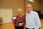 Mary Hayes, Albert hempenstall at the coffee morning in st Peters for the RNLI<br /> Picture: www.newsfile.ie