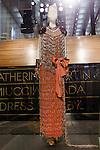 Gloria Blackbuck dress shown at the Catherine Martin and Muccia Prada Dress Gatsby display at Prada store in SOHO, NYC May 4, 2013.