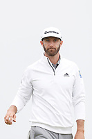 Dustin Johnson (USA) putts out on the first hole during the second round of the 118th U.S. Open Championship at Shinnecock Hills Golf Club in Southampton, NY, USA. 15th June 2018.<br /> Picture: Golffile | Brian Spurlock<br /> <br /> <br /> All photo usage must carry mandatory copyright credit (&copy; Golffile | Brian Spurlock)