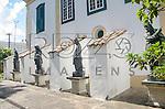 Réplicas das esculturas dos Profeta, de Aleijadinho (1730-1814). Acervo do Museu de Arte Sacra de São Paulo, São Paulo - SP, 02/2013.