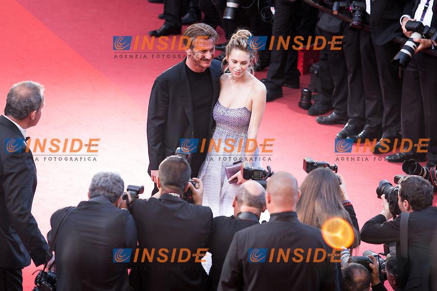 Seann Penn, Dylan Penn <br /> Cannes 20-05-2016 <br /> Festival del Cinema di Cannes 2016<br /> Foto Panoramic / Insidefoto