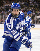 Tim Kirby (Air Force - 25) - The Yale University Bulldogs defeated the Air Force Academy Falcons 2-1 (OT) in their East Regional Semi-Final matchup on Friday, March 25, 2011, at Webster Bank Arena at Harbor Yard in Bridgeport, Connecticut.