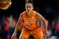 Washington, DC - July 30, 2019: Phoenix Mercury guard Leilani Mitchell (5) gets back on defense during first half action of game between the Phoenix Mercury and Washington Mystics at the Entertainment & Sports Arena in Washington, DC. (Photo by Phil Peters/Media Images International)