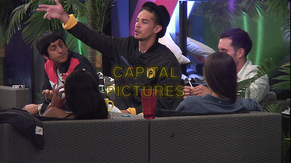 Celebrity Big Brother, Summer 2016, Day 30<br /> Jackson and Emma.<br /> *Editorial Use Only*<br /> CAP/KFS<br /> Image supplied by Capital Pictures