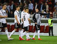 Siegesjubel Deutschland - 11.06.2019: Deutschland vs. Estland, OPEL Arena Mainz, EM-Qualifikation DISCLAIMER: DFB regulations prohibit any use of photographs as image sequences and/or quasi-video.