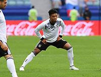 FUSSBALL FIFA Confed Cup 2017 Vorrunde in Sotchi 19.06.2017  Australien - Deutschland  Benjamin HENRICHS (Deutschland) beim Aufwaermen