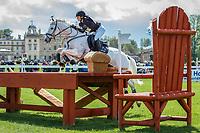 AUS-Natalie Blundell (ALGEBRA) ELIM: CROSS COUNTRY: 2014 GBR-CCI4* Mitsubishi Motors Badminton International Horse Trial (Saturday 10 May) CREDIT: Libby Law COPYRIGHT: LIBBY LAW PHOTOGRAPHY - NZL