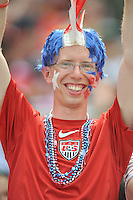 U.S. Fan. The USMNT defeated Germany 4-3, during and international friendly commemorating the centennial celebration for U.S. Soccer, at RFK Stadium, Sunday July 2 , 2013.
