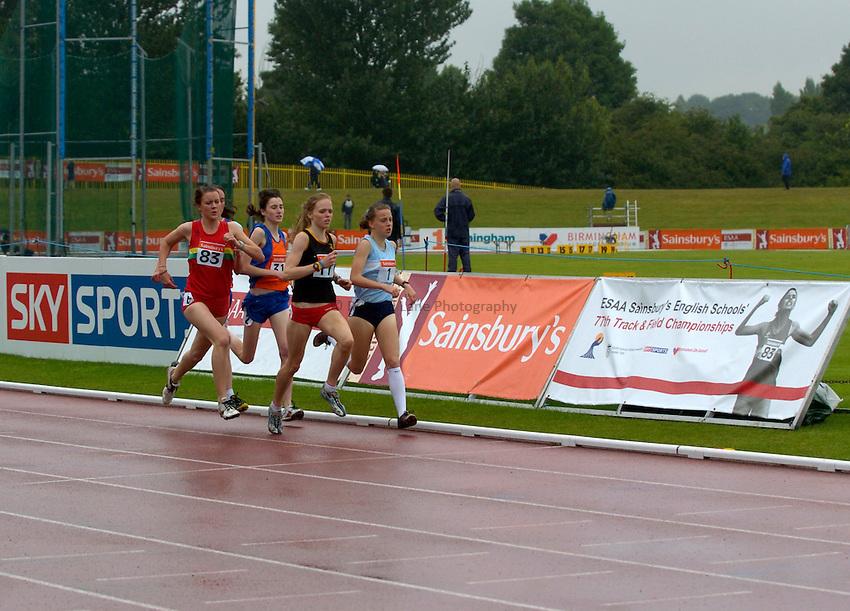Photo: Richard Lane/Sportsbeat Images..Sainsbury's English Schools Track and Field Championships, Birmingham. 13/07/2007. .