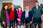 """Diarmy"" Production : Attending the  the Tarbert Theatre Players  production of Mary Lavery Carrig's play ""Diarmy"" were Elaine & Jim Sweeney, Mary Lavery Carrig, author of ""Diarmy"", Mary Sweeney & Kevin Enright."
