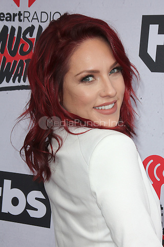 INGLEWOOD, CA - APRIL 3: Sharna Burgess at the iHeartRadio Music Awards at The Forum on April 3, 2016 in Inglewood, California. Credit: David Edwards/MediaPunch