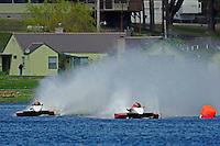 "Andrew Tate, A-25 ""Fat Chance"" and Tom Thompson, A-52 ""Fat Chance Too"" (2.5 MOD class hydroplane(s)"