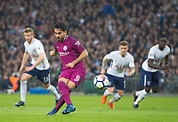 Manchester City Ilkay Gundogan  scoring from spot kick during the Premier League match between Tottenham Hotspur and Manchester City at Wembley Stadium, London, England on 14 April 2018. Photo by Andrew Aleksiejczuk / PRiME Media Images.