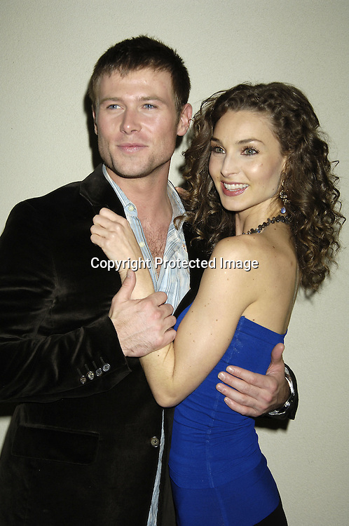 Jacob Young and Alicia Minshew of All My Children ..at ABC Casino Night on October 27, 2005 at The Lighthouse at Chelsea Piers. ..Photo by Robin Platzer, Twin Images