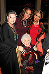 LOS ANGELES - DEC 5: Mindy Cohn, Charlotte Rae, Holly Robinson Peete, Dolores Robinson at The Actors Fund's Looking Ahead Awards at the Taglyan Complex on December 5, 2017 in Los Angeles, California