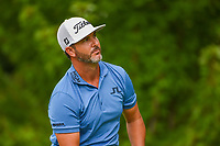 Scott Piercy (USA) watches his tee shot on 5 during Rd3 of the 2019 BMW Championship, Medinah Golf Club, Chicago, Illinois, USA. 8/17/2019.<br /> Picture Ken Murray / Golffile.ie<br /> <br /> All photo usage must carry mandatory copyright credit (© Golffile   Ken Murray)
