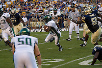 01 September 2007:Eastern Michigan running back DeAnthony White (runner)..The Pitt Panthers defeated the Eastern Michigan Eagles 27-3 at Heinz Field, Pittsburgh, Pennsylvania.