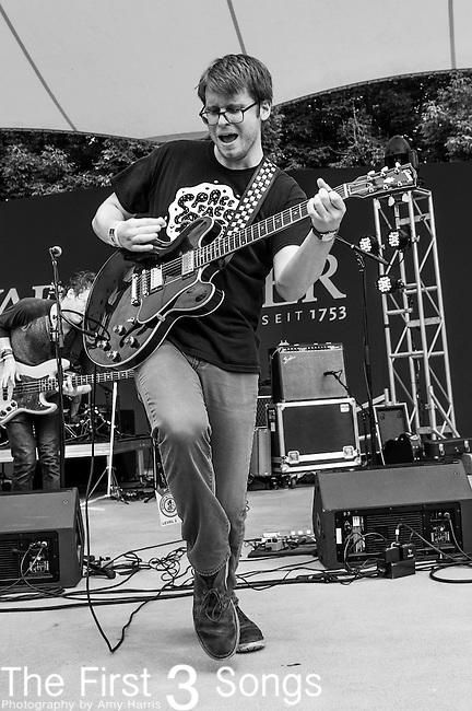 John Phillips of The Black Cadillacs performs at the 2014 Bunbury Music Festival in Cincinnati, Ohio
