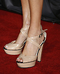 """Actress Lake Bell 's shoes at the Premiere Of Fox's """"What Happens In Vegas"""" on May 1, 2008 at the Mann Village Theatre in Los Angeles, California."""