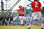 2017 March 25: Maryland Terrapins during a 15-7 win over the North Carolina Tar Heels at Fetzer Field in Chapel Hill, NC.