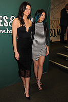 "NEW YORK CITY, NY, USA - JUNE 04: Kendall and Kylie Jenner Sign Copies Of Their Book ""Rebels: City Of Indra : The Story of Lex And Livia"" at the Barnes & Noble Union Square on June 4, 2014 in New York City, New York, United States. (Photo by Celebrity Monitor)"