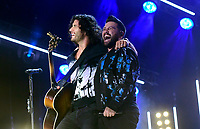 07 June 2019 - Nashville, Tennessee - Dan Smyers and Shay Mooney, Dan + Shay. 2019 CMA Music Fest Nightly Concert held at Nissan Stadium. Photo Credit: Dara-Michelle Farr/AdMedia