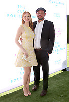 BEVERLY HILLS, CA - OCTOBER 7 : Sarah Drew, Justin Chambers, at The 2018 Rape Foundation Annual Brunch at Private Residence in Beverly Hills California on October 7, 2018. <br /> CAP/MPI/FS<br /> &copy;FS/MPI/Capital Pictures
