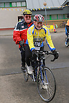 Eric Beggs and Benny Grogan at the Operation Transformation 10km cycle from Ardee Parish Centre.