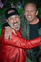 Joey Fatone &amp; Ian Ziering at the Los Angeles premiere of &quot;Jumanji: Welcome To the Jungle&quot; at the TCL Chinese Theatre, Hollywood, USA 11 Dec. 2017<br /> Picture: Paul Smith/Featureflash/SilverHub 0208 004 5359 sales@silverhubmedia.com