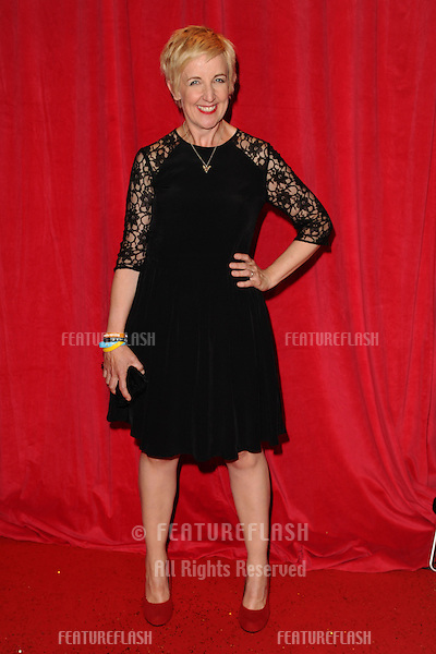 Julie Hesmondhalgh arriving for the 2014 British Soap Awards, at the Hackney Empire, London. 24/05/2014 Picture by: Steve Vas / Featureflash
