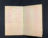 BNPS.co.uk (01202 558833)<br /> Pic: Wikipedia <br /> <br /> PICTURED: William Harrison's book of accounts. The personal archive of tragic William Harrison who was valet to Bruce Ismay, the managing director of Titanic's owners White Star Line, fetched £44,000.<br /> <br /> A walking cane with a lightbulb on one end of it that a Titanic survivor waved in a desperate attempt to attract a rescue ship has sold for £105,000.