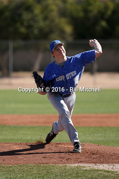 Sage Diehm - 2016 College of Southern Nevada Coyotes (Bill Mitchell)