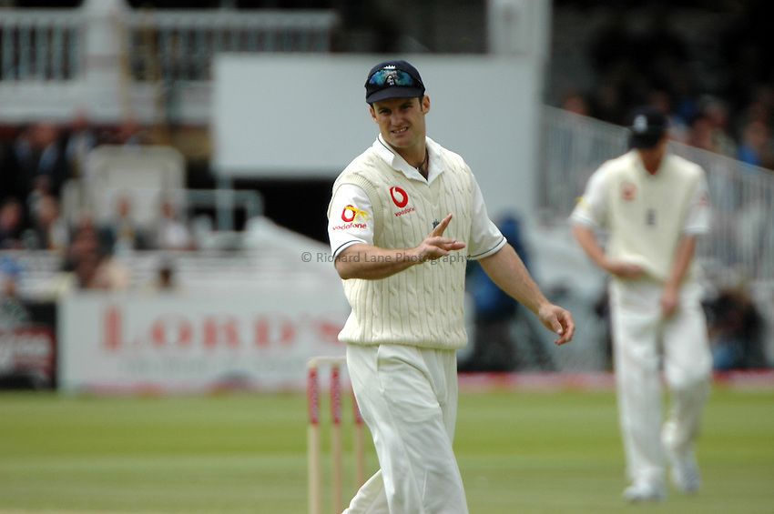 Photo: Tony Oudot..England v West Indies. 1st Test npower Test Match Series.19/05/2007..Andrew Strauss of England