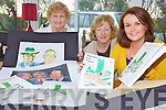 MAGAZINE: Members of the Ballydonoghue Parish Magazine which will be launched this week with some paintings by Eamie Kissane which will be displayed at the launch, l-r: Mary Dee, Noelle Hegarty and Moira McMahon (Youth Co-ordinator).