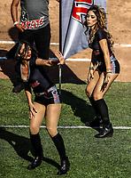 Animadoras, porritas chicas Tecate. <br /> .<br /> Acciones, durante el partido de beisbol entre<br /> Criollos de Caguas de Puerto Rico contra las &Aacute;guilas Cibae&ntilde;as de Republica Dominicana, durante la Serie del Caribe realizada en estadio Panamericano en Guadalajara, M&eacute;xico,  s&aacute;bado 4 feb 2018. <br /> (Foto  / Luis Gutierrez)