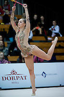 "February 13, 2016 - Tartu, Estonia - VIKTORIA BOGDANOVA of Estonia performs in the All-Around at ""Miss Valentine"" 2016 international tournament."