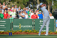 Si Woo Kim (KOR) watches his tee shot on 10 during round 1 of The Players Championship, TPC Sawgrass, at Ponte Vedra, Florida, USA. 5/10/2018.<br /> Picture: Golffile | Ken Murray<br /> <br /> <br /> All photo usage must carry mandatory copyright credit (&copy; Golffile | Ken Murray)
