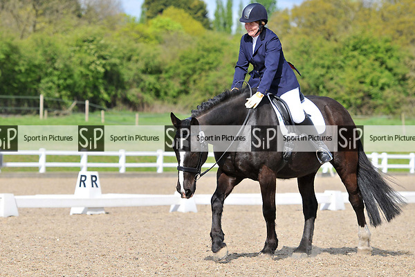 Class 1. Prelim 17. British dressage (BD). Brook Farm Training Centre. Essex. 16/04/2017. MANDATORY Credit Ellen Szalai/Sportinpictures - NO UNAUTHORISED USE - 07837 394578