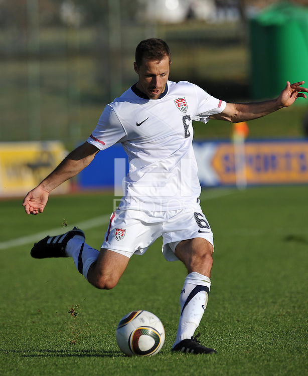 Steve Cherundolo of USA...Football - International Friendly - USA v Australia - Ruimsig Stadium