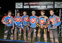 2008 Runners-Up Lakeside Hammers - Poole Pirates vs Lakeside Hammers, Elite League Grand Final 2nd leg at Wimborne Road, Poole - 13/10/08 - MANDATORY CREDIT: Rob Newell/TGSPHOTO