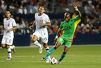 Thery Racon Guadeloupe...USMNT defeated Guadeloupe 1-0 in Gold Cup play at LIVESTRONG Sporting Park, Kansas City, Kansas.
